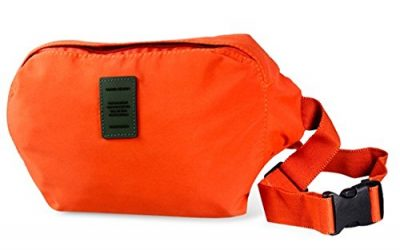 Fashionable Outdoor Sport Waist Bag Shoulder Bag Anti-theft Close-fitting Waist Bag (Orange)