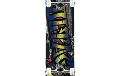 Voltage Graffiti Complete Skateboard Blue Width:7.50