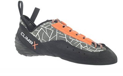 CLIMB X Rockmaster Climbing Shoe with FREE Climbing DVD ($30 Value) (Men's US 10.5 Grey)