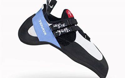 Tenaya Oasi Rock Climbing Shoe – Men 9/Women 10 – White/Blue