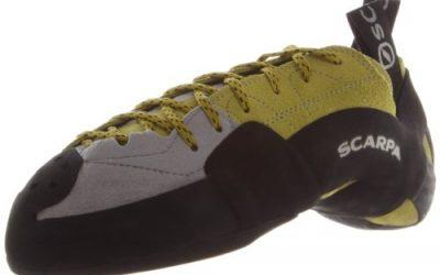 Scarpa Men's Mago Climbing Shoe,Apple/Green,41.5 EU/8.5 M US