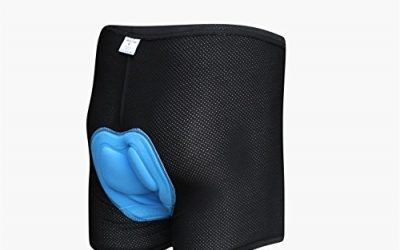 M&K Men's 3D Padded Bicycle Cycling Underwear Shorts(Maze Style Size XL)