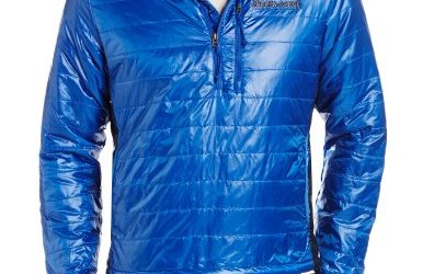 Brooks Range Mountaineering Men's Cirro Anorak Jacket, Blue, Large