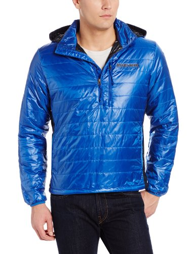 Brooks Range Mountaineering Men's Cirro Anorak Jacket, Blue, Large