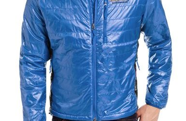 Brooks Range Mountaineering Men's Cirro Jacket, Blue, X-Large