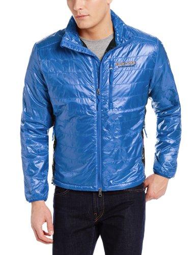 Brooks Range Mountaineering Men's Cirro Jacket, Blue, X-Large