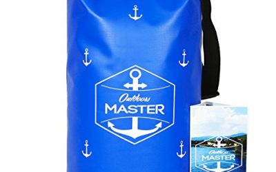 Outdoors MASTER 20L Dry Bag – Waterproof Floating Bag for Boating, Kayaking, Sailing, Rafting, Stand Up Paddle, Canoeing, Camping, Wakeboarding