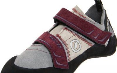 Scarpa Women's Reflex Climbing Shoe,Pewter/Plum,38 EU/7 M US