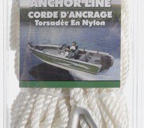 SeaSense Three-Strand Twisted 100% Nylon Anchor Line, 3/8-Inch X 100-Foot