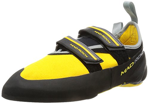 Mad Rock Mens Flash 2.0 Climbing Shoe, Yellow, 10 D US