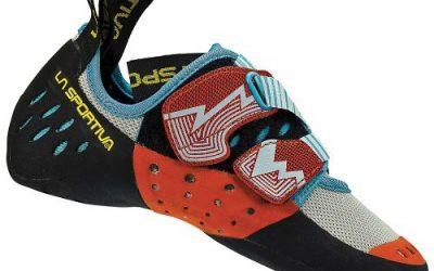 La Sportiva Women's Oxygym Rock Climbing Shoe White/Coral – 39.5