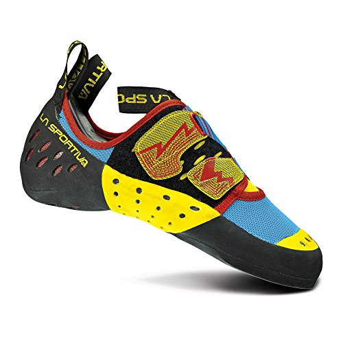 La Sportiva Men's Oxygym Rock Climbing Shoe Blue/Red - 44.5