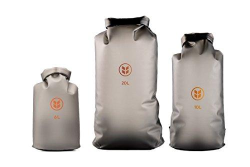 Drysak Non Toxic Pvc Free Waterproof Premium Dry Bag By Barlii Tpu Based For Kayaking Beach Rafting Boating Hiking Camping Fishing And More