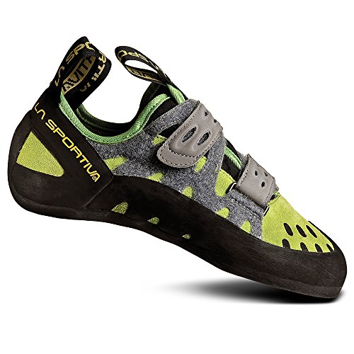 La Sportiva Men's Tarantula Rock Climbing Shoe Kiwi/Grey - 40