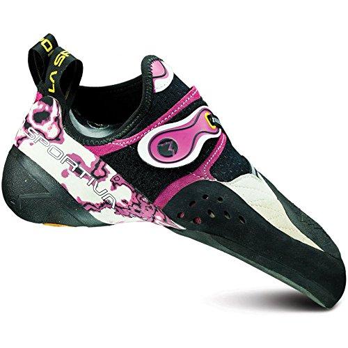 La Sportiva Solution Shoe - Women's White / Pink 37.5