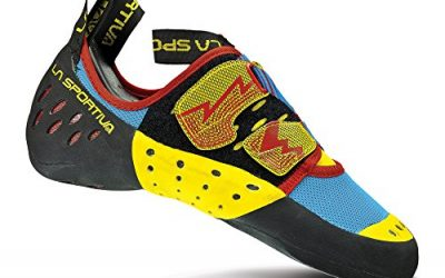 La Sportiva Oxygym Rock Shoe – Men's Climbing shoes 40 Blue/Red