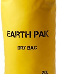 Earth Pak- Waterproof Dry Bag – Roll Top Dry Compression Sack Keeps Gear Dry for Kayaking, Beach, Rafting, Boating, Hiking, Camping and Fishing