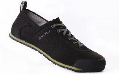 evolv Men's Cruzer Approach Shoe,Black,10.5 M US