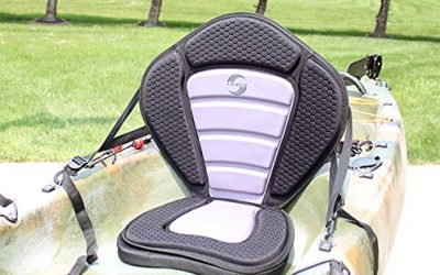 Kerco Dragon-X Sit-on-Top Kayak Seat w/ 2″ Extra Thick Detachable Seat Pad
