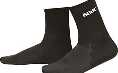 SEAC Standard 2.5 mm Thick Neoprene Boot
