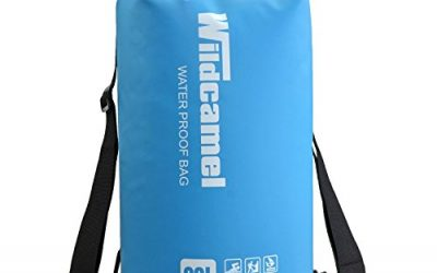 Wildcamel WL-018 Premium Dry Bag With 2 Shoulder Straps for Fishing, Rafting, Boating, Kayaking, Swimming, Camping, Canoeing and Snowboarding