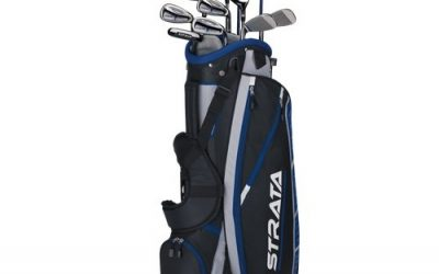 Callaway Men's Strata Plus Complete Golf Club Set with Bag (16-Piece)