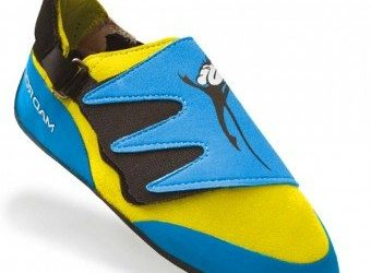 Mad Rock Mad Monkey 2.0 Kids Climbing Shoes (Strap) – Blue/Yellow (3.0 M US)